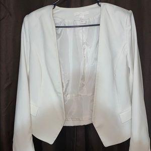 H&M Blazer OFF WHITE SZ 12